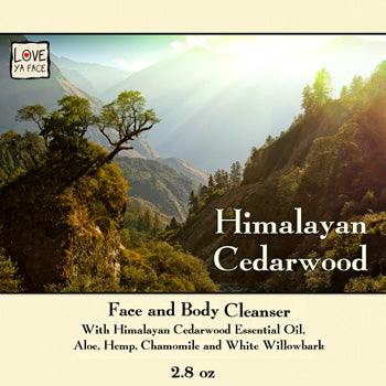 Himalayan Cedarwood - Face and Body Cleanser