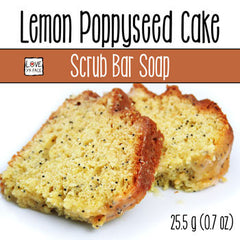 Lemon Poppyseed Cake - Scrub Bar Soap