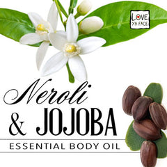 Neroli and Jojoba Essential Body Oil