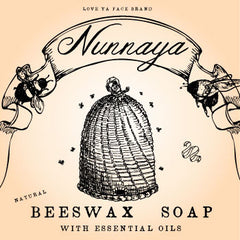 Nunnaya Beeswax - Face and Body Bar Soap