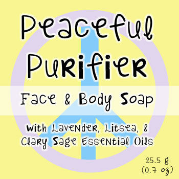 Peaceful Purifier - Face and Body Bar Soap
