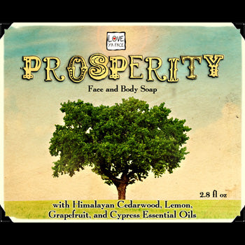 Prosperity Face and Body Soap - Body Bar Soap
