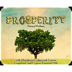 Prosperity Natural Essential Oil Perfume