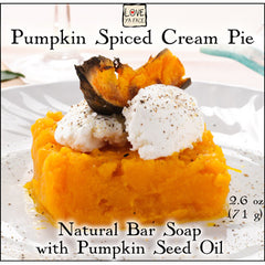 Pumpkin Spiced Cream Pie - Body Bar Soap