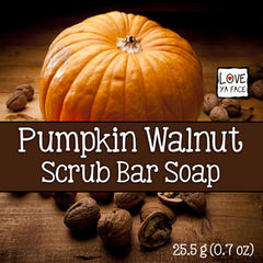Pumpkin Walnut - Scrub Bar Soap