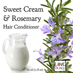 Sweet Cream and Rosemary Conditioner