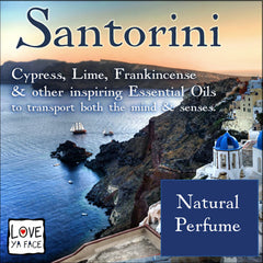 Santorini Natural Essential Oil Perfume