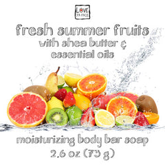 Fresh Summer Fruits - Body Bar Soap