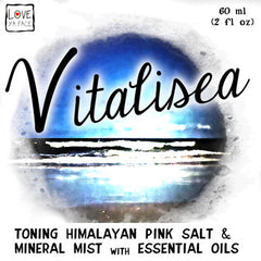 Vitalisea Toning Himalayan Pink Salt and Mineral Mist