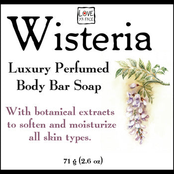 Wisteria Luxury Perfumed Body Soap - Body Bar Soap