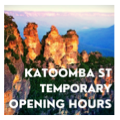 Re-opening Katoomba St- Updated 3/6 until further notice