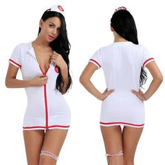 Sexy Nurse 4pc Costume