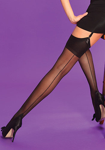 Scarlet Seamer Stockings