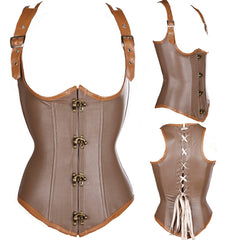 Grand Spiral Steel Boned Underbust Corset Top