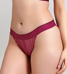 Lyzy Tanga Brief - Wine