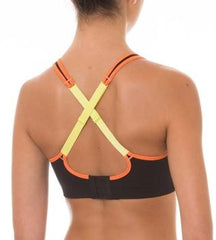 Triaction Seamfree Crop Top BLACK/ORANGE