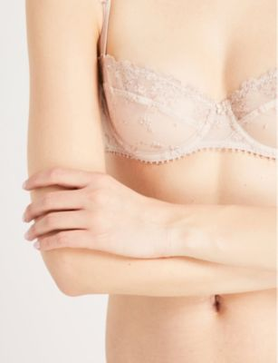 White Nights Half-Cup Bra - BEIGE