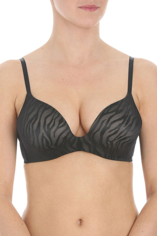 Body Make-Up Magic Wire Jacquard Bra BLACK