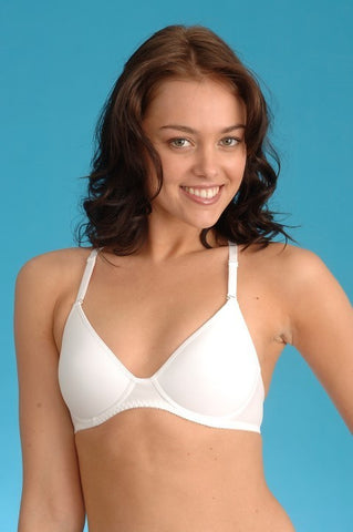 Girls Room 71100 Soft Bra - WHITE