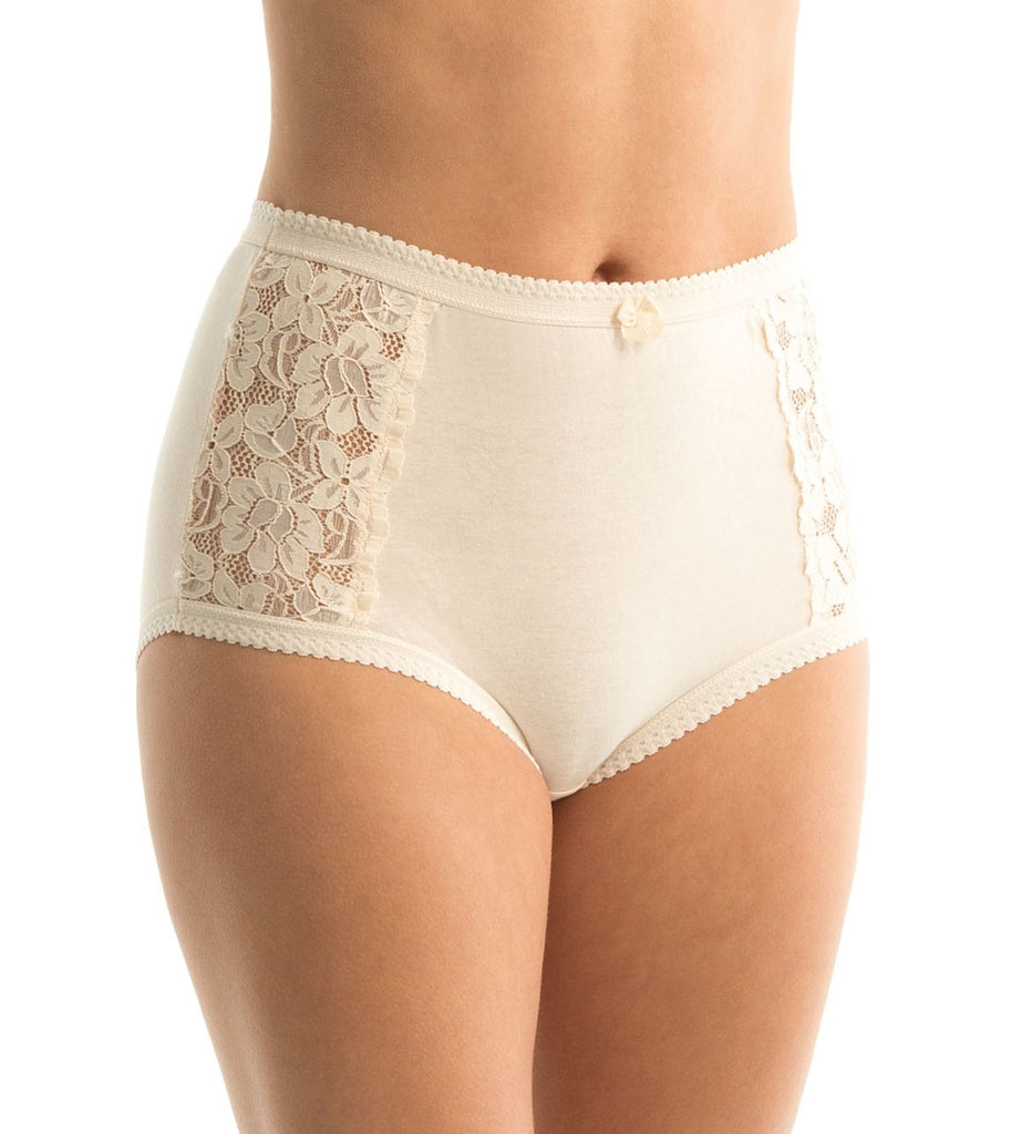 Cotton & Lace Full Brief BODY BEIGE