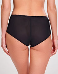 Jasmine Deep Brief ANIMAL BLACK