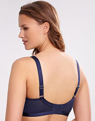 Spencer Padded Midi Underwire Balconnet Bra INK