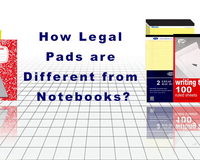 How Legal Pads are Different from Notebooks?