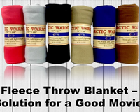 Fleece Throw Blanket – Best Solution for a Good Movie Night