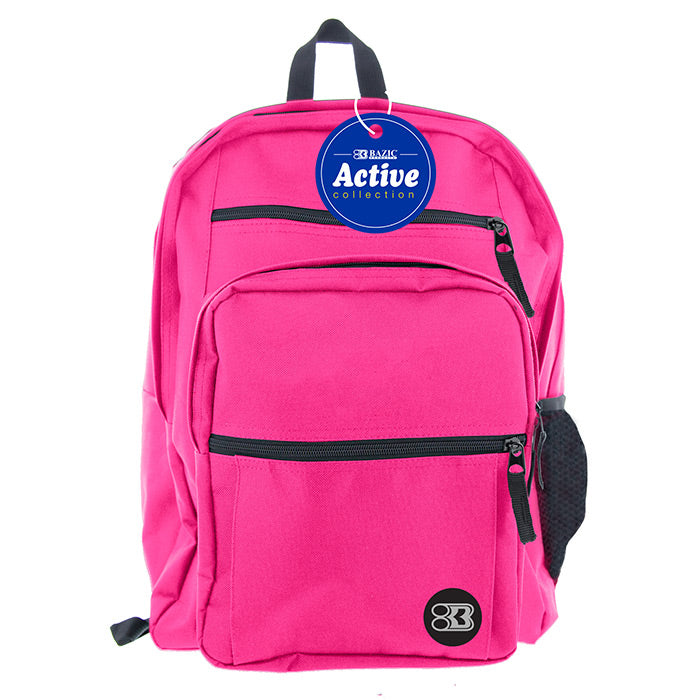 "17"" Fuchsia Active Backpack"