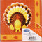 TOM TURKEY Dinner Napkins, 16ct , Case Pack of 60 , Ideal for Bulk Buyers