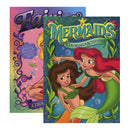 JUMBO FAIRIES / MERMAIDS Coloring  Activity Book
