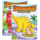DINOSAURS Coloring  Activity Book