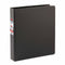 "CARDINAL 1.5"" Easy Open D Ring Binder, Black , Case Pack of 12, Ideal for Bulk Buyers"