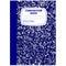 Deluxe Composition Notebook, for School Use to Take Notes, Wide Ruled, 100 Sheets, 200 Pages,  Colored Marble Design, Case Pack of 48, Ideal for Bulk Buyers, Retailers and Wholesalers