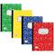 Deluxe Composition Notebook, College-Ruled, 100 Sheets, Available in Assorted Colors (Red, Blue, Yellow, Green), Case Pack of 48, Ideal for Bulk Buyers, Retailers and Wholesalers