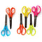 "5"" Scissors , Blunt Tip, Assorted Colors,  Case Pack of 500, Ideal for Bulk Buyers"