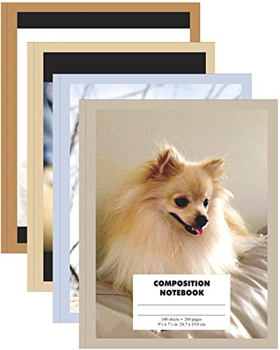Ultra Hard Cover Designer Composition Notebook, 100 sheets, Cats and Dogs, Case Pack of 48, Ideal for Bulk Buyers