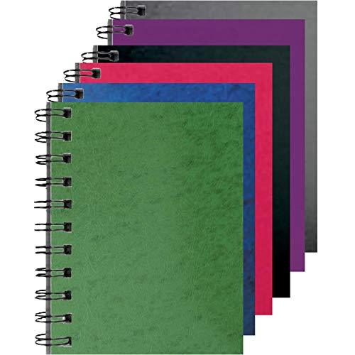 Press Board Fat Book 200 Sheets, Green, Blue, Red, Black, Purple, Gray, Case Pack of 48, Ideal for Bulk Buyers