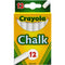 Crayola, White Chalk, 12 Pieces, Case Pack of 36 , Ideal for Bulk Buyers