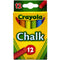 Crayola, Color Chalk, 12 Pieces, Case Pack of 36 , Ideal for Bulk Buyers