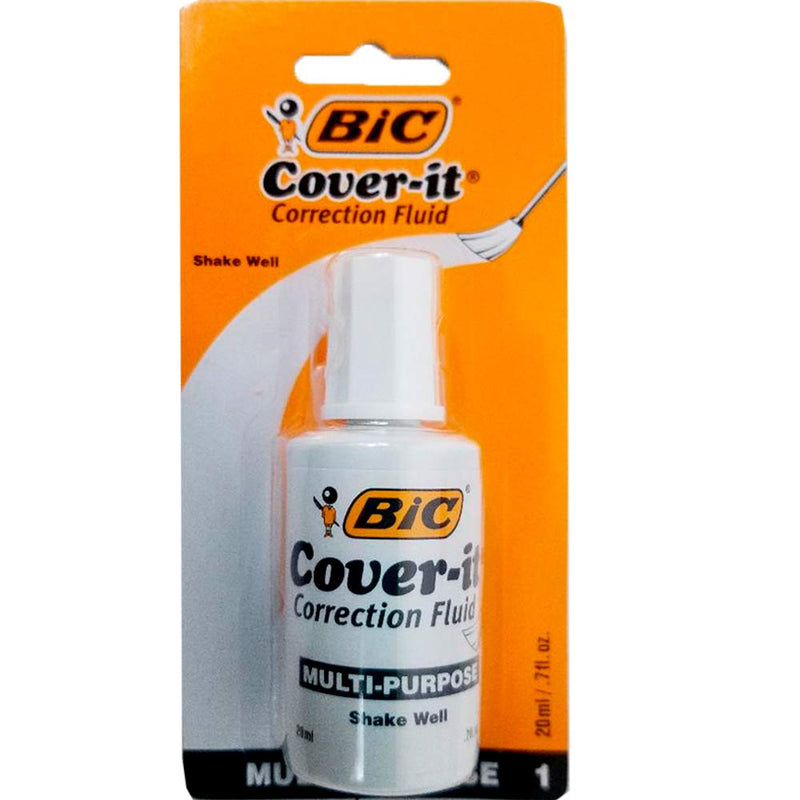 BIC Wite Out 20 ml, Case Pack of 72, Ideal for Bulk Buyers