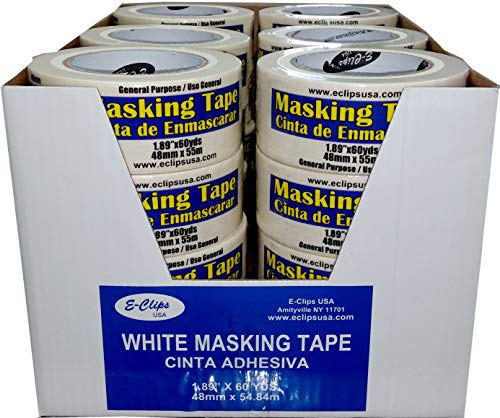 "Masking Tape, 1.89"" x 60 Yds, Case Pack of 24, Ideal for Bulk Buyers"
