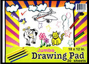 "Drawing Pad, 12"" x 18"", 30 Sheets, Case Pack of 48, Ideal for Bulk Buyers"