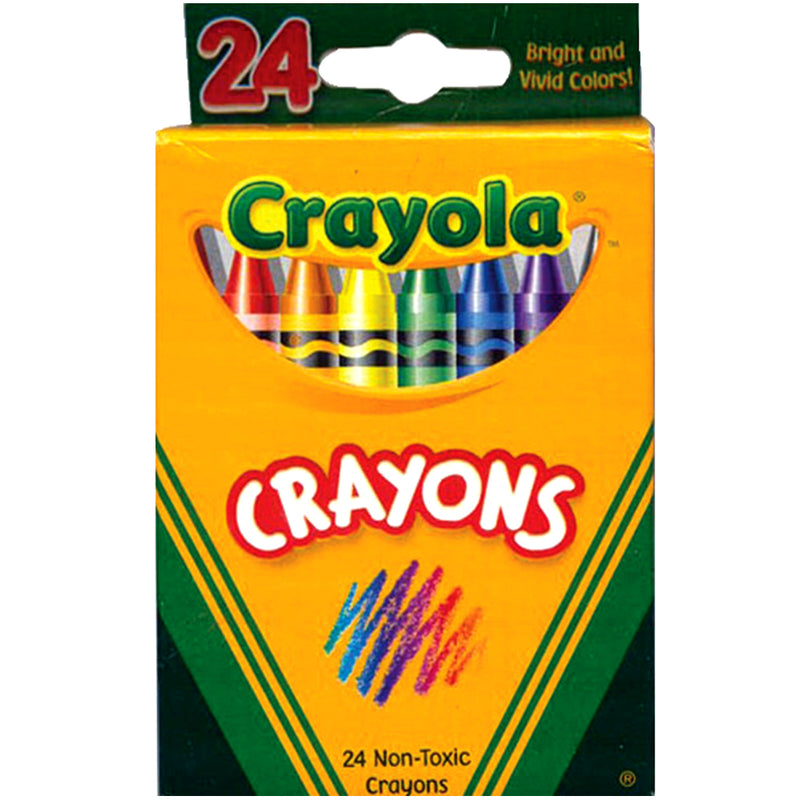 CRAYOLA Crayons 24 ct , Case Pack of 48 , Ideal for Bulk Buyers
