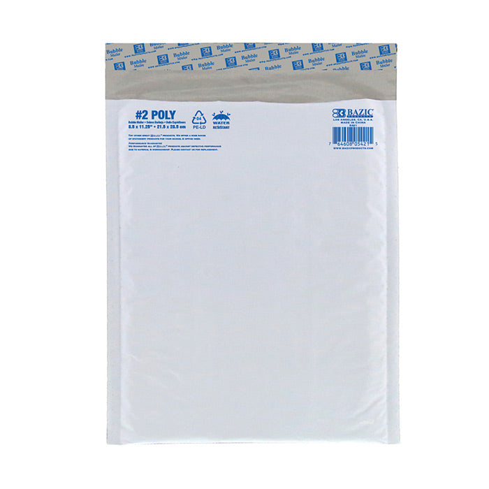 "8.5"" x 11.25"" (2) Poly Bubble Mailer"
