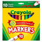 Crayola Markers, 10 pk, Case Pack 24, Ideal for Bulk Buyers