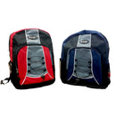 Backpack, Deluxe, 2 Color Assorted, Case Pack of 24, Ideal for Bulk Buyers