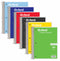 TOPS 5 Subject Spiral Notebook, College Ruled 180 sheets, Assorted Colors, Case Pack of 12, Ideal for Bulk Buyers.