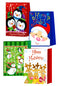 Christmas Medium Glossy Bag, Case Pack of 168, Ideal for Bulk Buyers