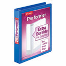 "CARDINAL 1"" View Binder, Extra Durable, Blue Cardinal Performer , Case Pack of 12 , Ideal for Bulk Buyers"